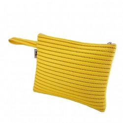 Bag clutch, Lisbon Yellow, sympatex