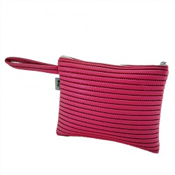Borsa clutch, Lisbona Fuxia, in sympatex