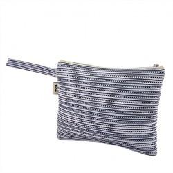 Bag clutch, Lisbon Blue, sympatex