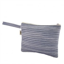 Borsa clutch, Lisbona Blu, in sympatex
