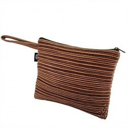 Borsa clutch, Lisbona Beige, in sympatex