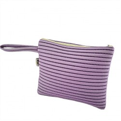 Borsa clutch, Lisbona Lilla, in sympatex