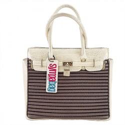 Handtasche, Barcelona, Kokos -, sympatex
