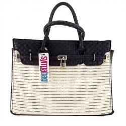Handtasche, New York Weiß, sympatex
