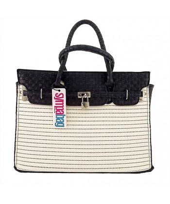 Hand bag, New York White, sympatex