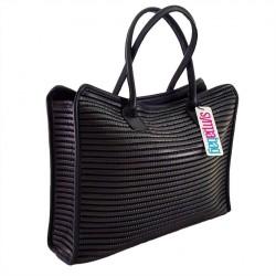 Hand-bag London Schwarz, sympatex