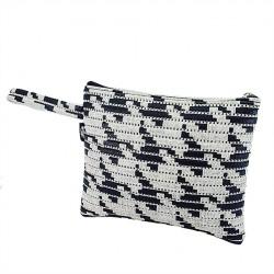 Bag clutch, Lisbon Pixel, sympatex