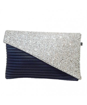 Bag clutch, Mykonos Silver, sympatex