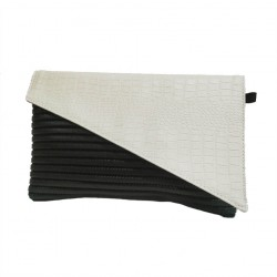 Borsa clutch, Mykonos Panna, in sympatex