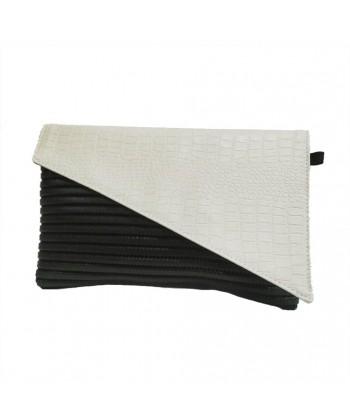 Bag clutch, Mykonos Cream, sympatex