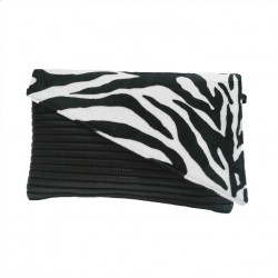 Bag clutch, Mykonos Zebra, sympatex