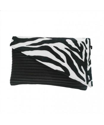 Bag clutch, Mykonos Zebra, sympatex