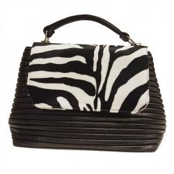 Handtasche, Dublin Zebrata, sympatex