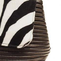 Hand bag, Dublin Zebra, sympatex