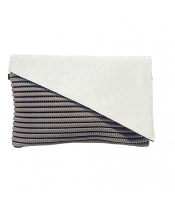Bag clutch, Mykonos, White, sympatex