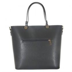 Handtasche, Veronica Grau, leder