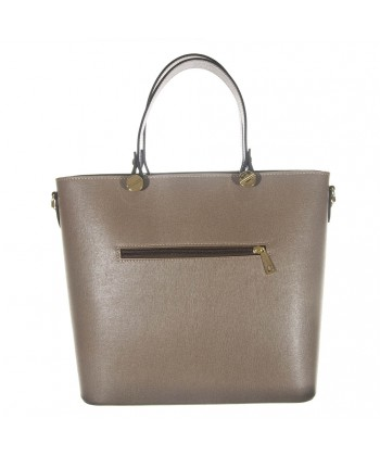 Bag in hand, Veronica Beige leather