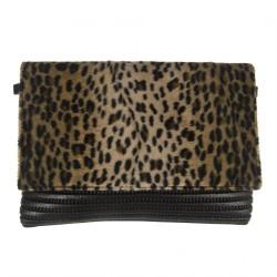 Bag clutch, Zara Leopard in Sympatex