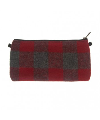 Bag clutch, Concetta Gray Red Paintings, in Sympatex