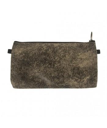 Bag clutch, Concetta Black Moon Beige, Sympatex