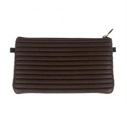 Bag clutch, Concetta Brown Gaucho, Sympatex