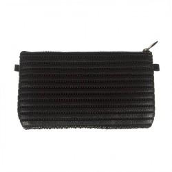Bag clutch, Concetta Black, Optical, Sympatex