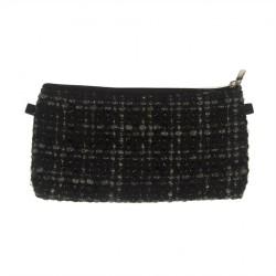 Bag clutch, Concetta Black Boucle, Sympatex
