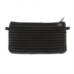 Bag clutch, Concetta Black, Brindle, Sympatex