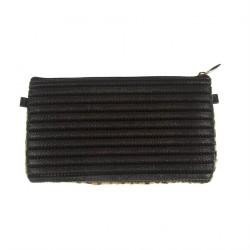 Bag clutch, Concetta Black Leopard, Sympatex