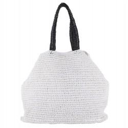 Bolso de hombro Populares de algodón Blanco