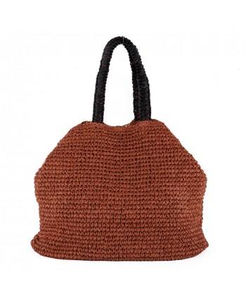 Shoulder bag, Leonarda Red, cotton