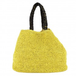 Bolsa de ombreiro Popular Amarelo, algodón