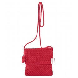 Bolso de hombro, Teresa, Rojo, algodón