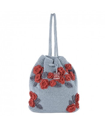 Shoulder bag, Tiziana Gray, cotton