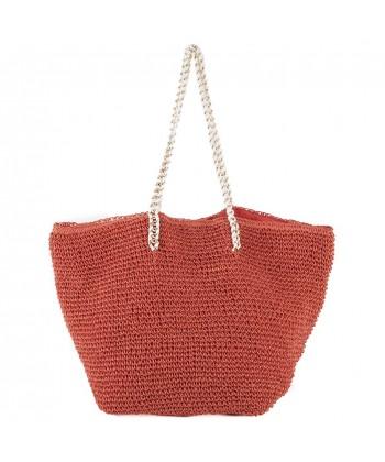 Handtasche, Clelia Rot, bast
