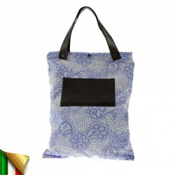 Hand bag, Betta Architecture, fabric, made in Italy