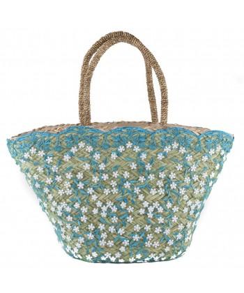 Handtasche, Primula Azzurra ist mit stroh