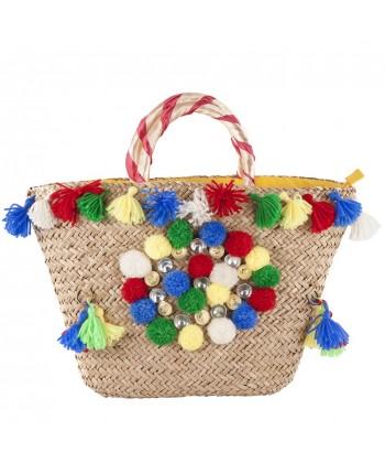Handtasche, Pia Bunt, stroh