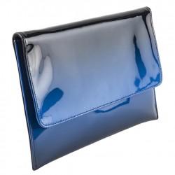 Borsa clutch, Nina Blu, in ecopelle