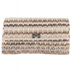 Bag clutch, Ferdi, Brown, cotton