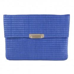 Shoulder bag, Lia Blue, raffia