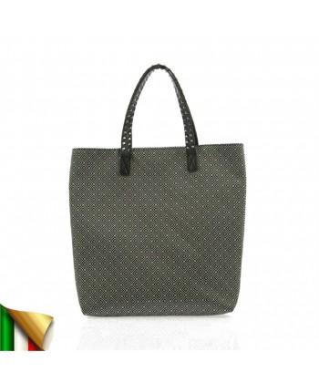 Man saco, Graziella Branco, tecido, feita en Italia