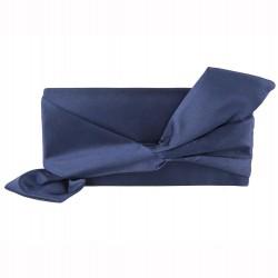Clutch-tasche, Ophelia-Blau, satin