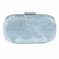 Bag clutch, Nives Blue, fabric