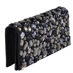 Borsa clutch, Ursula Nera, in ecopelle