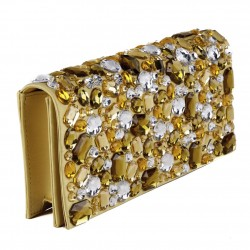 Borsa clutch, Ursula Oro, in ecopelle