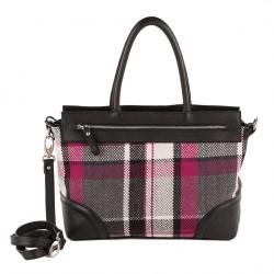 Handtasche, Orietta Multi-color, stoff und leder