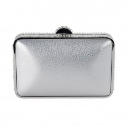 Borsa clutch, Chantal Argento, in ecopelle