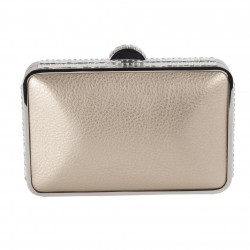 Borsa clutch, Chantal Oro, in ecopelle