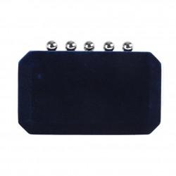 Borsa clutch, Danielle Blu, in velluto damascato